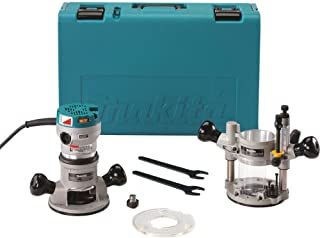 Plunge & Fix Base Router Kit,  2-1/4 HP