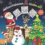 Weihnachtsbücher Für Kinder Ab 2: Malvorlagen Weihnachten - Weihnachten Malbuch Für Kinder ab 2 Jahren - Geschenkidee Für Kinder Mädchen und Jungen - ... erwachsene - ideal für (2-8 jahren )