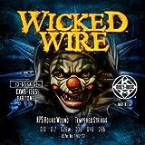 Wicked Kerly fil électrique 13–65 baryton trempé-Jeu de cordes pour guitare électrique Filet