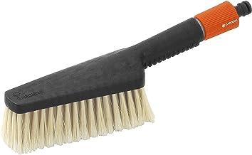 GARDENA Handwasborstel, groot: Handschrobber voor moeilijk toegankelijke plaatsen, voor kwetsbare oppervlakken, traploze r...