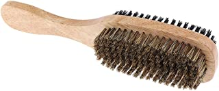 Blesiya Mens Boar Bristle Hair Brush - Natural Wooden Wave Brush for Male - Styling Beard Hairbrush for Fine,Thin,Short,Lo...
