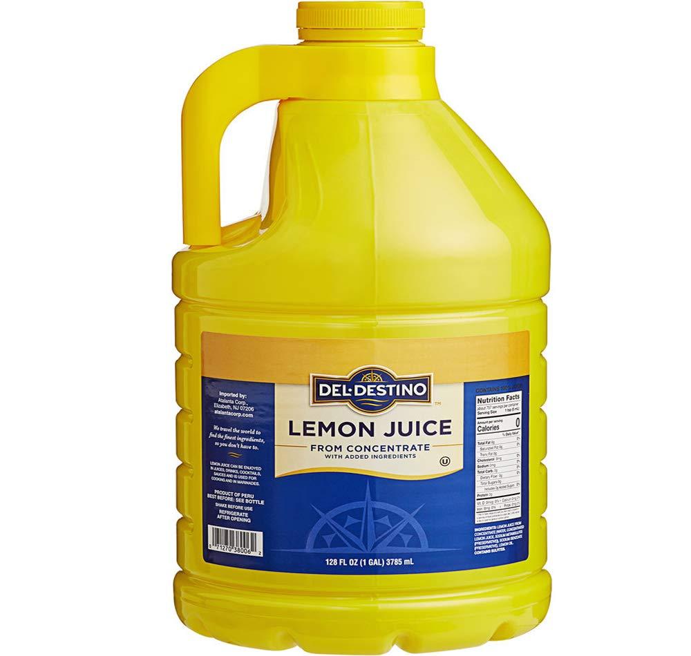 Lira Four Bottles of 5% OFF Lemon Fl oz. Juice Deluxe 128