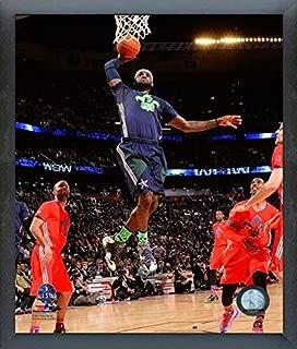 LeBron James Miami Heat 2014 NBA All Star Game Action Photo (Size: 12