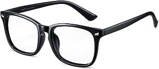 Cyxus Óculos de Luz azul Óculos Quadrados para Computador Óculos Anti-fadiga Ocular Lente Transparente UV400 para Mulhere...