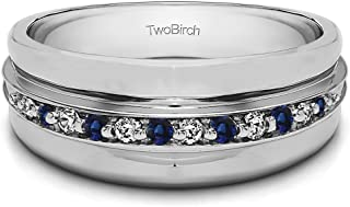 Best twobirch mens wedding rings Reviews