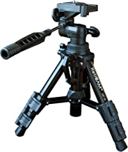 RetiCAM Tabletop Tripod with 3-Way Pan/Tilt Head, Quick Release Plate and Carrying Bag for Phones, Cameras and Spotting Sc...