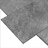 'Block In Fumo' Bodenfliesen 30x60 cm, Feinsteinzeug Fliesen mit Steinoptik (1 m²)