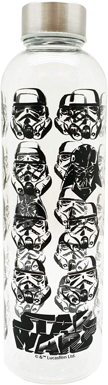 Star Wars Storm Trooper Darth Vader School Sports Bebidas de agua Botella 800ml