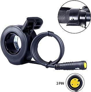 BAFANG Thumb Throttle Mid Drive Motor E-Bike Conversion Kits 36V 48V 52V 250W 500W 750W 1000W Waterproof 3PIN Female 45cm