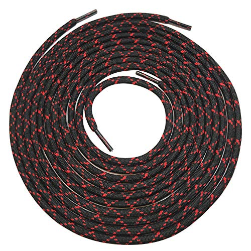 Heavy duty round boot laces shoelaces for hiking walking construction safety work boots shoes (63