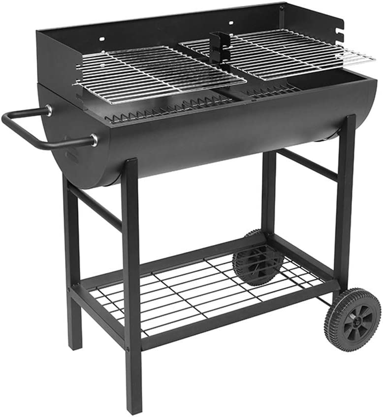 Fevilady Portable BBQ Charcoal Ranking TOP4 shopping Barbecue with Wheels Grill