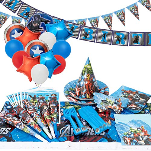 Avengers Party Decorating Kit (200+ Items)