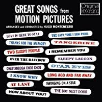 Great Songs From Motion Pictures by Hugo Montenegro (2012-05-03)