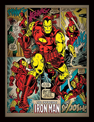 Le poster souvenir The Invicible Iron Man