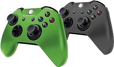2 em 1 capas de controle de silicone com aderência confortável para Xbox One – Melhora a aderência e a precisão + Protege ...