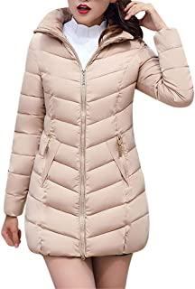 Fashion Winter Women Puffer Jacket Long Thick Warm Slim Coat Removable Hooded