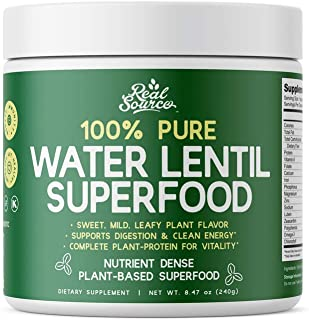 Natural Water Lentil Superfood. Non-GMO, Florida Grown, All Natural Supergreen Raw Superfood and Multi-Vitamin Perfect for Smoothies, Drinks, Recipes & Tea. Gluten Free, Vegan, made from LENTEIN® - by