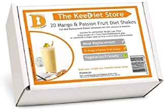 20 Mango Passionfruit Meal Replacement VLCD Diet Shakes by KeeDietA Estimated Price : £ 25,99