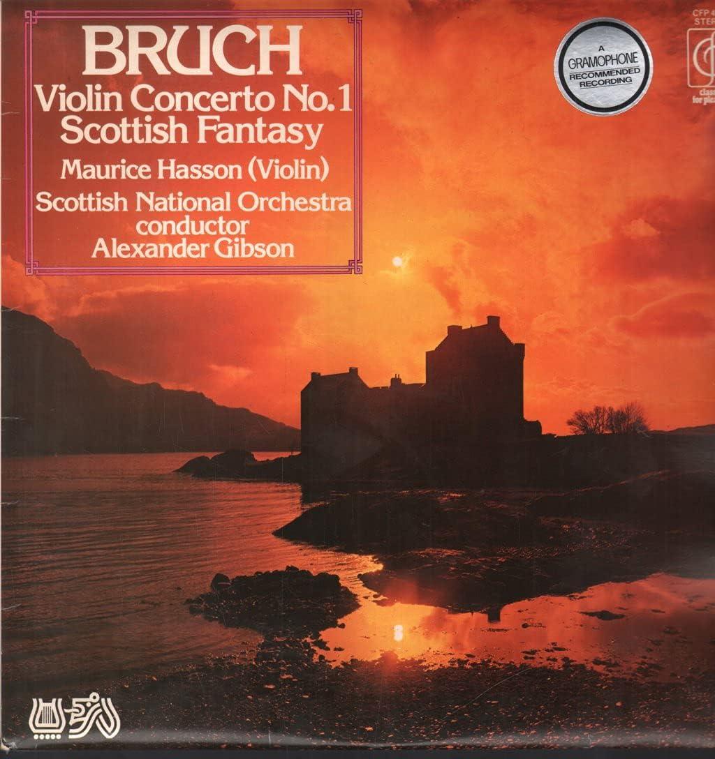 Bruch - Violin Concerto No. SEAL Over item handling limited product 1 in Scottish Op. 26 Fant Minor G