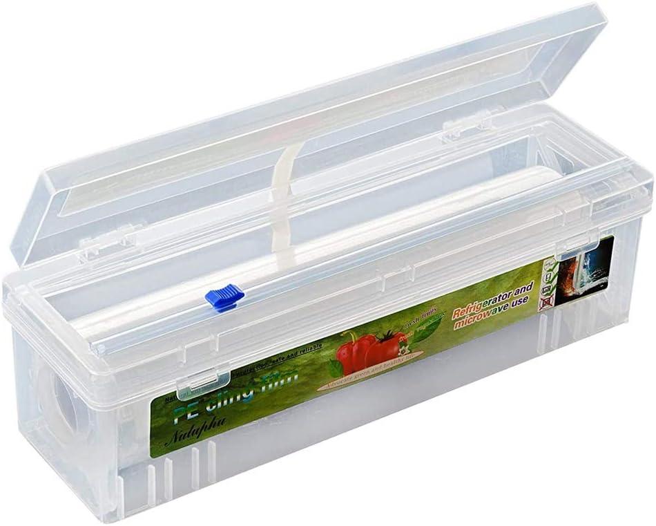 hunpta Free shipping / New Bargain Plastic Food Reusable Dispenser,Household Wrap