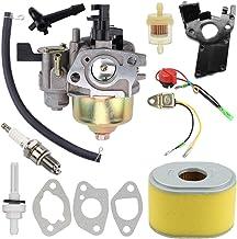 GX200 GX160 Carburetor with Air Fuel Filter Tune Up Kit for Honda GX120 GX160 GX200 5.5HP 6.5 HP Engine Replaces# 16100-ZH...
