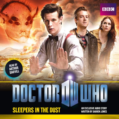 Doctor Who: The Sleepers in the Dust cover art