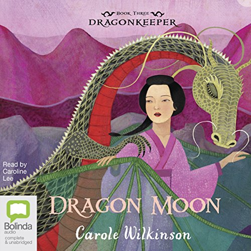 Dragon Moon audiobook cover art