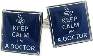 Procuffs Keep Calm I'm a Doctor Cufflinks Gift + Box & Cleaner