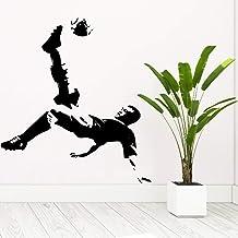 Jugador de fútbol de la NBA para hombres, sala de estar, dormitorio juvenil, decoración, habitación para niños, habitación para bebés, regalo, decoración de la pared, pose voladora, 57 cm x 62 cm