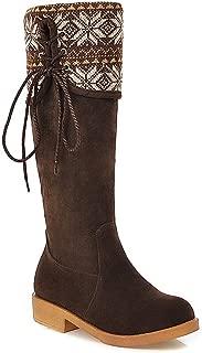 BalaMasa Womens ABS13926 Pu Boots