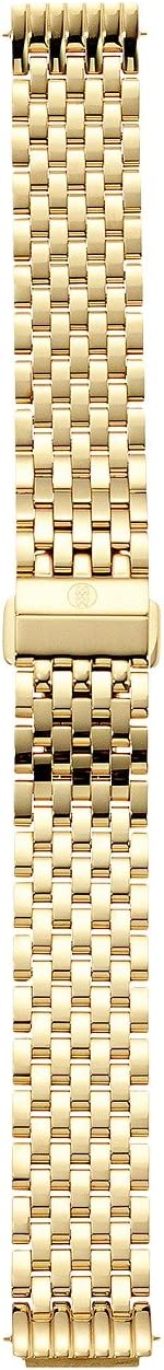 Michele 16mm Deco II Mid-Size Gold Bracelet
