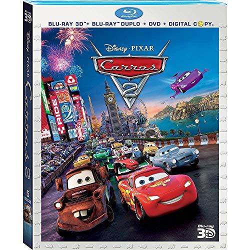 Carros 2 [Blu-ray 3D + Blu-ray Duplo + DVD + Digital Copy]