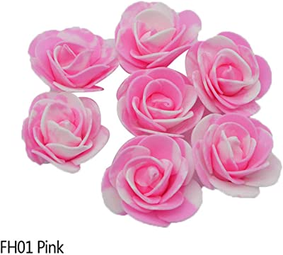 Amazon.com: eDealMax 18pcs Fiesta de la boda falsa Rose Ramo ...
