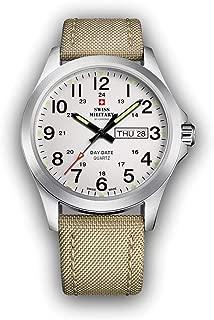 Swiss military chrono Mens Analog Quartz Watch with Nylon bracelet SMP36040.06