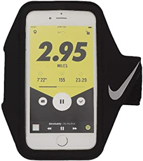 Nike Lean ARM Band Plus OSFM Black/Black/Silver