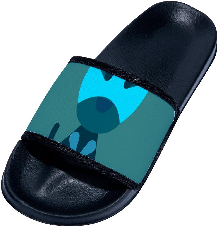 Buteri Simple Animal Slipper Summer Breathable Quick-Drying Non-Slip Slippers for Family