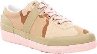 Women's Canvas CAMO Sneakers Low Top Lace Up Desert Camouflage Sand 8 M