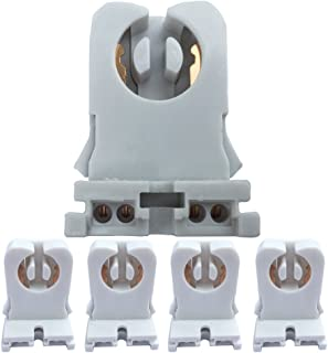 Non-shunted Turn Type 4-Pack UL Listed T8 Lamp Holder Tombstone Sockets LED Fluorescent Tube