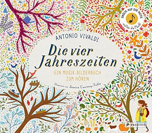 Antonio Vivaldi. Die vier Jahreszeiten: Ein Musik-Bilderbuch zum Hören (Prestel junior Sound-Bücher, Band 1) - Partnerlink