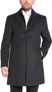 Kirkland Signature Men's Wool Cashmere Blend Overcoat Dress Coat, Variety
