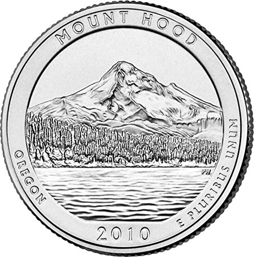 2010-P-Mount-Hood-National-Park-P-40-Coin-Bankroll-Uncirculated