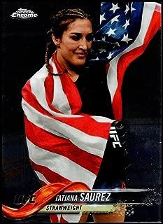 2018 Topps Chrome UFC #68 Tatiana Suarez