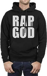 Black Men's Sweatshirt Eminem-Logo-Super- Fleece Long Sleeve