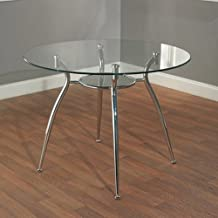 Best round glass dinette Reviews