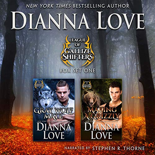 League of Gallize Shifters: Box Set One Audiobook By Dianna Love cover art