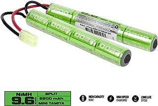 Valken Airsoft Battery - NiMH 9.6V 2200mAh Split