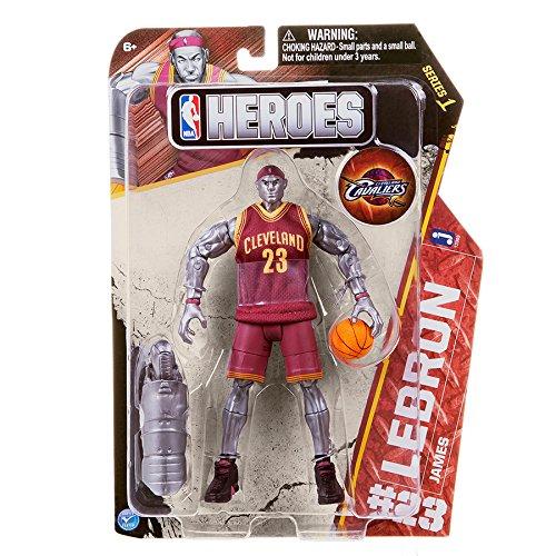 NBA Heroes Action Figure, LeBron James (Cleveland Cavaliers)
