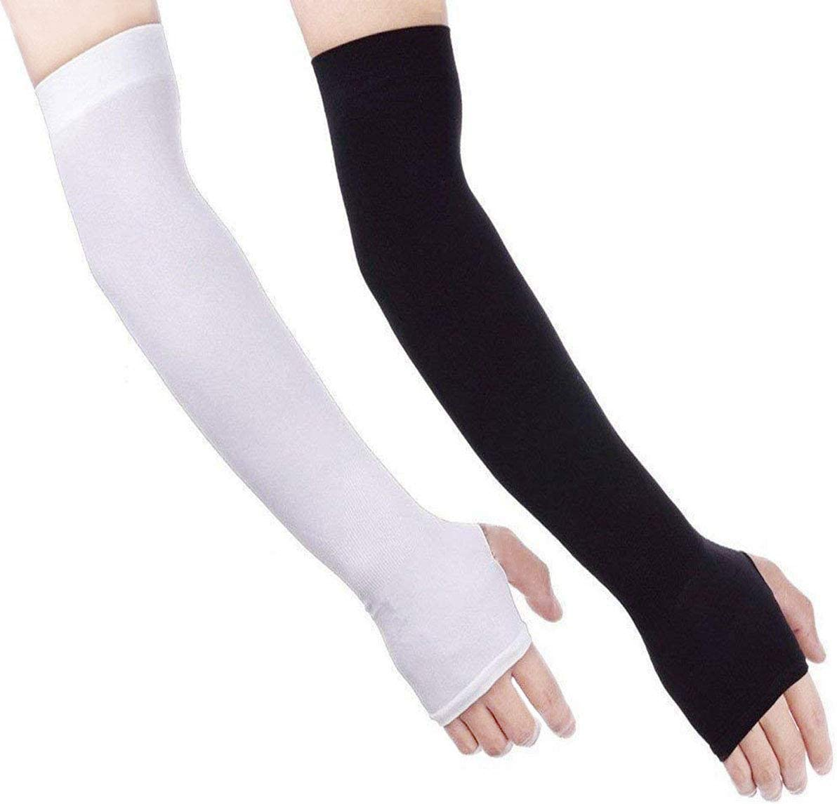 Compression Women Running Sport Arm Protective Sleeves Cut Heat Resistant Sleeve