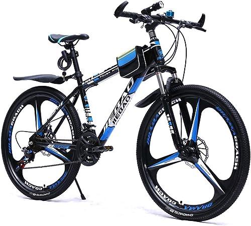 ganancia cero GRXXX Bicicleta de Montaña Rueda de radios de Cambio Cambio Cambio Una Rueda Doble Freno de Disco 26 Pulgadas,azul-26 Inches  hasta 60% de descuento