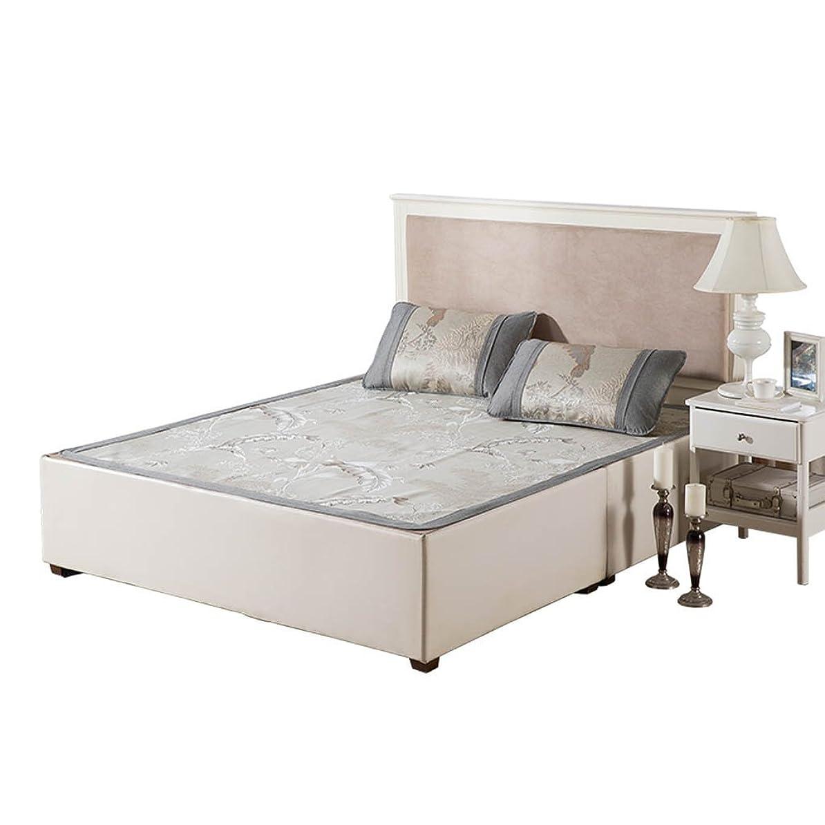 女将放牧するアルネラタンマットレス5FTジャカードマットスリーピース折り畳み式寮の寝具